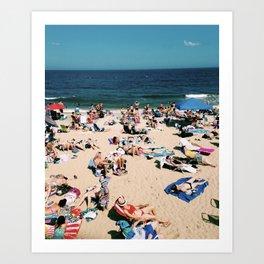 Summertime in NJ Art Print