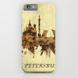 St. Petersburg Russia Cityscape iPhone Case