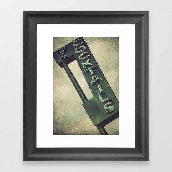 Cheers To Edith! Framed Art Print