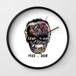 RIP Stan Lee Wall Clock