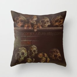 Catacomb Culture - Catacombs Throw Pillow