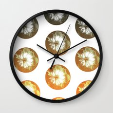rusty circles Wall Clock