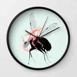 La fuga dall' Eden Wall Clock
