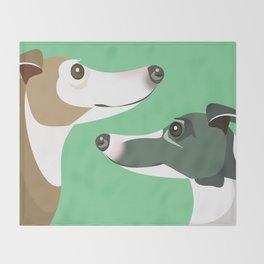 Greyhounds Throw Blanket