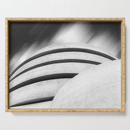 Guggenheim Museum in New York City Serving Tray