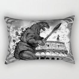 Godzilla World Tour Rome Rectangular Pillow