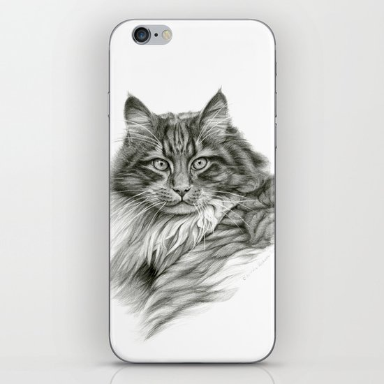 Ginger Cat G2012-052 iPhone & iPod Skin