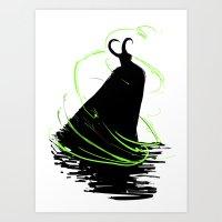 God of Mischief Art Print