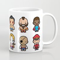 foo fighters Mugs featuring The Fighters by Papyroo