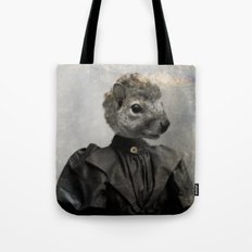 Miss Squirrel Tote Bag