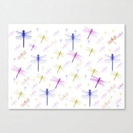 Dragonfly Pattern Canvas Print