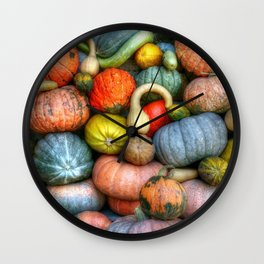 Fall crop Wall Clock