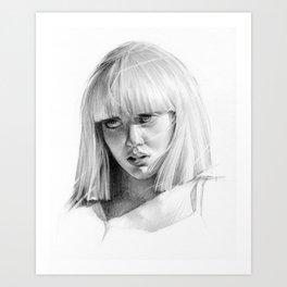 Mad Art Print