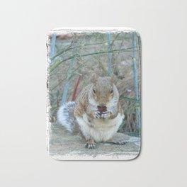 """""""Squirrel Time"""" Bath Mat"""