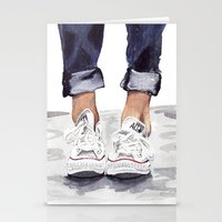 converse Stationery Cards featuring Converse by Bridget Davidson