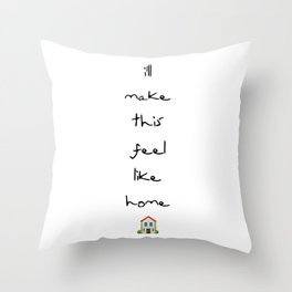 Home (Louis) Throw Pillow
