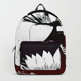 Stylized Water lily Backpack