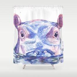 Happy Hippo Fiona Shower Curtain