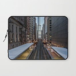 It's Quiet in the Morning Laptop Sleeve
