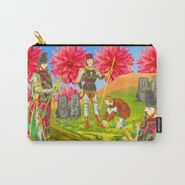 THE COLORFUL KNIGHT AND THE SEPIA BEGGARS Carry-All Pouch