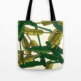 Botany: Banana Leaves Tote Bag