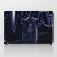 alien iPad Cases featuring Alien by MatoSwamp