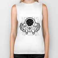 ghost world Biker Tanks featuring Fart~Ghost by Seez