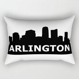 Arlington Skyline Rectangular Pillow