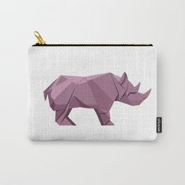 Origami Rhino Carry-All Pouch