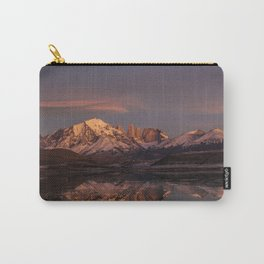 Sunrise at the Sarmiento Lake   Torres del Paine National Park, Patagonia Carry-All Pouch