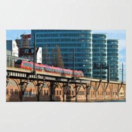 RED TRAIN - BERLIN Rug