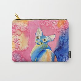 Sphynx Cat 3 Carry-All Pouch