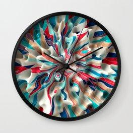 Weird Surface Wall Clock