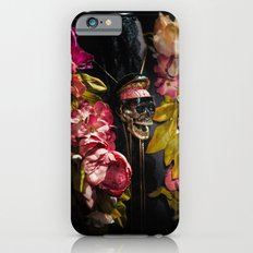 Skull and Peonies Slim Case iPhone 6