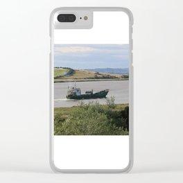 Ship into Launceston Docks* Clear iPhone Case