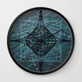 Designer #3 time space Wall Clock