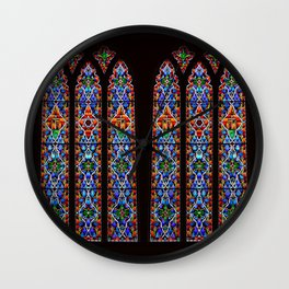 Mary's Mountain Windows Wall Clock