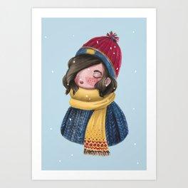 Winter is comin' Art Print
