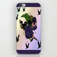 witch iPhone & iPod Skins featuring Witch by Art-Motiva