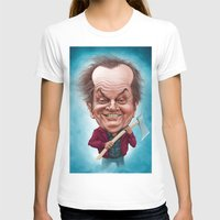 jack nicholson T-shirts featuring Jack Nicholson caricature by Jordygraph