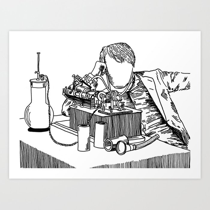 Thomas Edison print for dorm rooms
