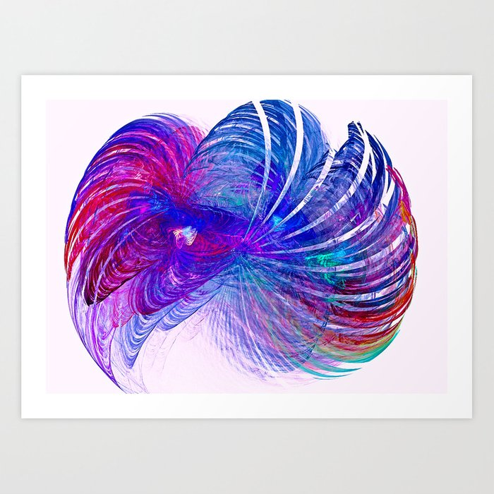 Blow up Art Print