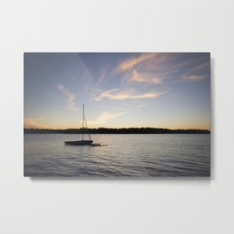 Come Sail Away. Metal Print