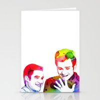klaine Stationery Cards featuring Joy in Color by Jen K