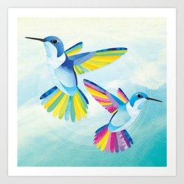 Shanti Sparrow: Flynn & Pip Art Print