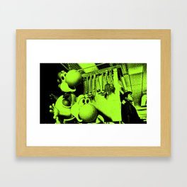 Clever Yoshis Framed Art Print