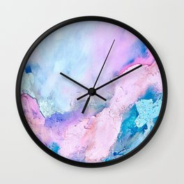 Cotton Candy Party Wall Clock