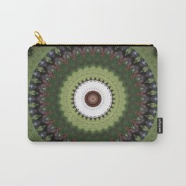 Brown cow kaleidoscope #20 Carry-All Pouch