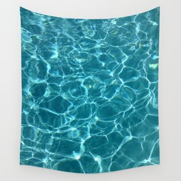 Blue water Wall Tapestry