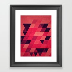 pynk Framed Art Print